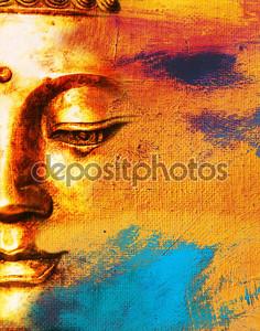 Абстрактный фон буддийской коллаж - мечта