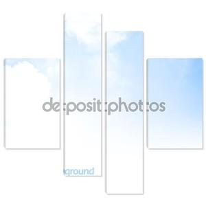 Границы фона голубое небо