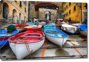 Традиционные  итальянские рыбацкие лодки