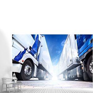 Два больших грузовиков