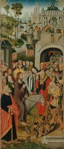 Мастер Тюизонского Алтаря. Въезд Христа в Иерусалим