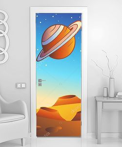 Сатурн над пустыней