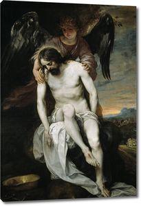 Кано Алонсо. Мертвый Христос, поддерживаемый ангелом