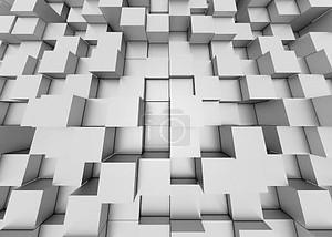 3d фон абстрактный мозаика кубы