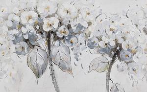 Рисунок шапкообразных цветов