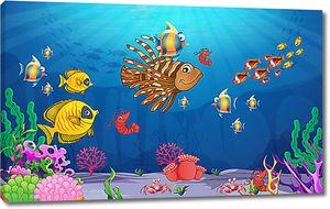 Счастливый подводный мир