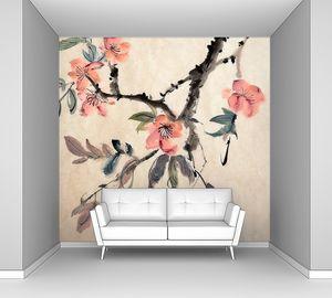 Китайская живопись Цветы