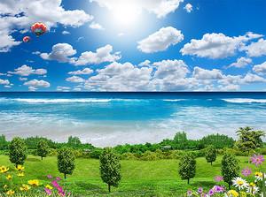 Сад у моря