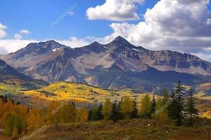 Скалистые горные вершины