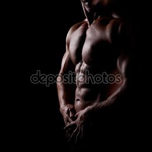 Сильный спортивный
