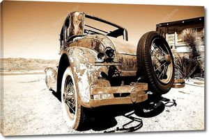 Американский Ретро автомобиль Форд