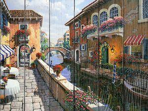 Прекрасный городской пейзаж Венеции