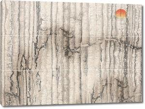 Вертикальные слои камня