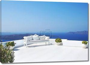 Свадебные украшения на острове Санторини
