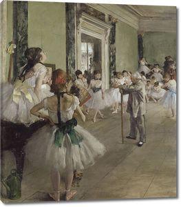Эдгар Дега. Балетный класс