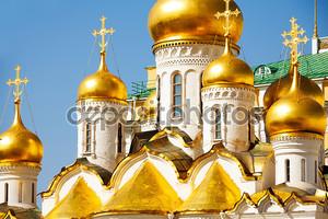 Купола собора Благовещения Пресвятой Богородицы
