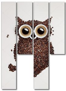 Сова кофе