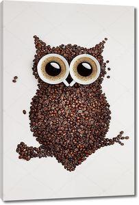 сова кофе.
