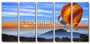 пейзаж восход солнца на doi inthanon