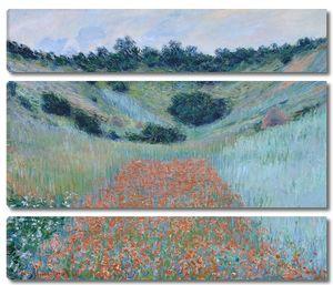 Клод Моне. Маковое поле в долине близ Живерни
