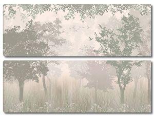 Волшебный туманный лес