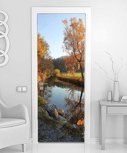 Осенний вид на реке