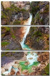 Водопад на реке Горный