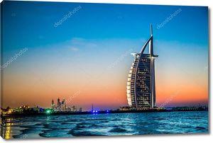 Бурдж аль Араб является роскошный 5 звезд отель