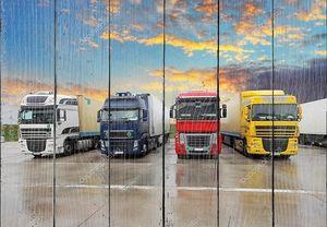 грузовик - фрахтует транспортировку