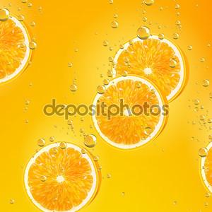 Оранжевые фрукты