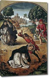 Берругете Педро. Смерть Святого Петра Мученика