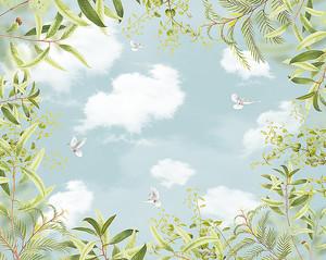 Небо в растительном окоеме