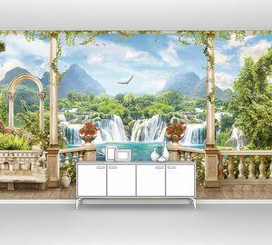 Терраса в райском месте