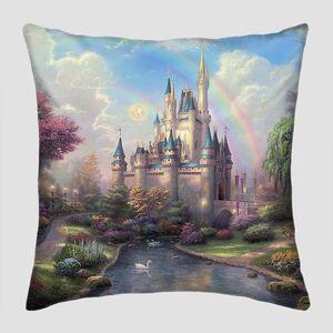 Невероятный замок с радугой