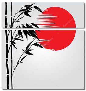 Бамбука Красное солнце
