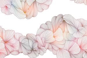 Lusso-переплетение серо-розовых линий на белом