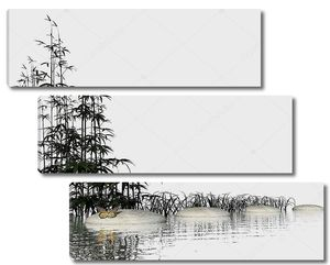 Zen шаги - 3d визуализация