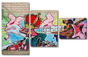 Граффити на стенку
