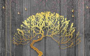 Дерево с круглой кроной