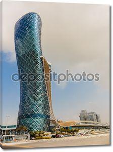 Надвратная башня в Абу-Даби
