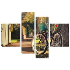 велосипед в окружающей среде