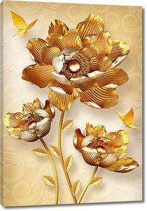 Цветок золотой