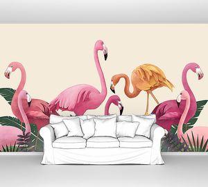 Особенный фламинго