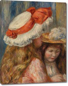 Пьер Огюст Ренуар. Девушки в шляпах