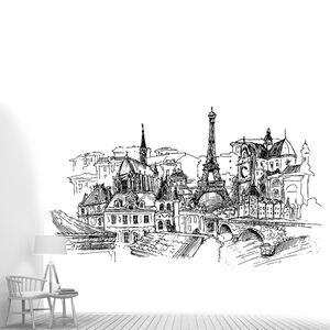 Париж, векторные иллюстрации