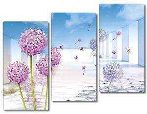 Цветочные шарики из воды