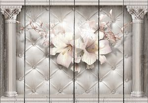 Цветы и колонны
