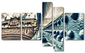 Подробная информация о Тауэрский мост в Лондоне.