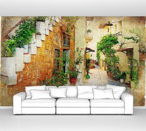 Очаровательные старинные греческие улицы