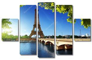 Эйфелева башня, Париж. Франция.